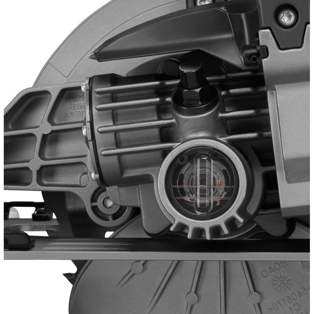 THRUCOOL 15 Amp 7-1/4 in. Worm Drive Circular Saw