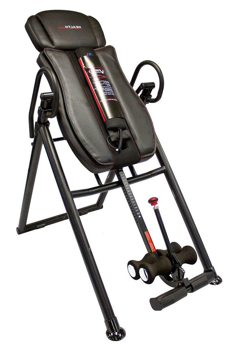 Health Gear Big & Tall Heat & Massage Inversion Table
