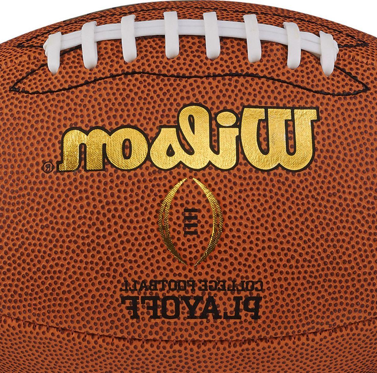 Wilson College Football Playoff Replica Official Football