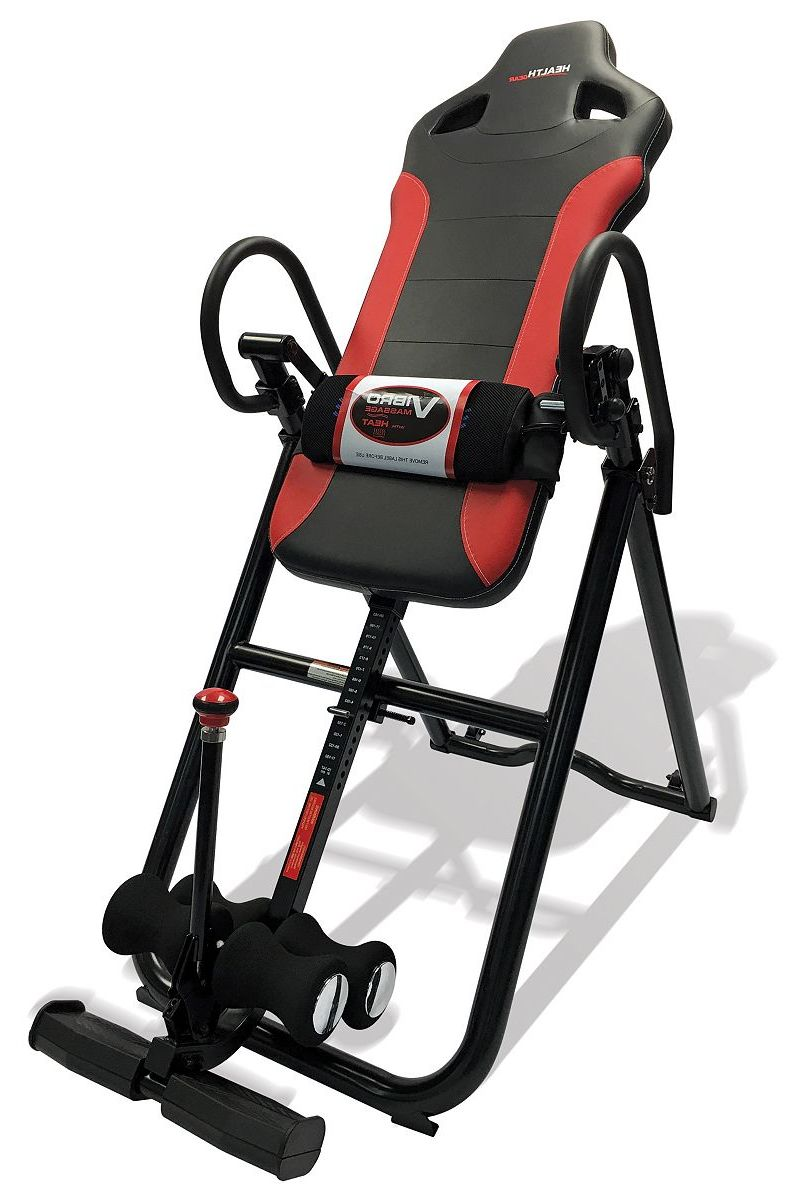 Health Gear Deluxe Heat and Massage Inversion Table