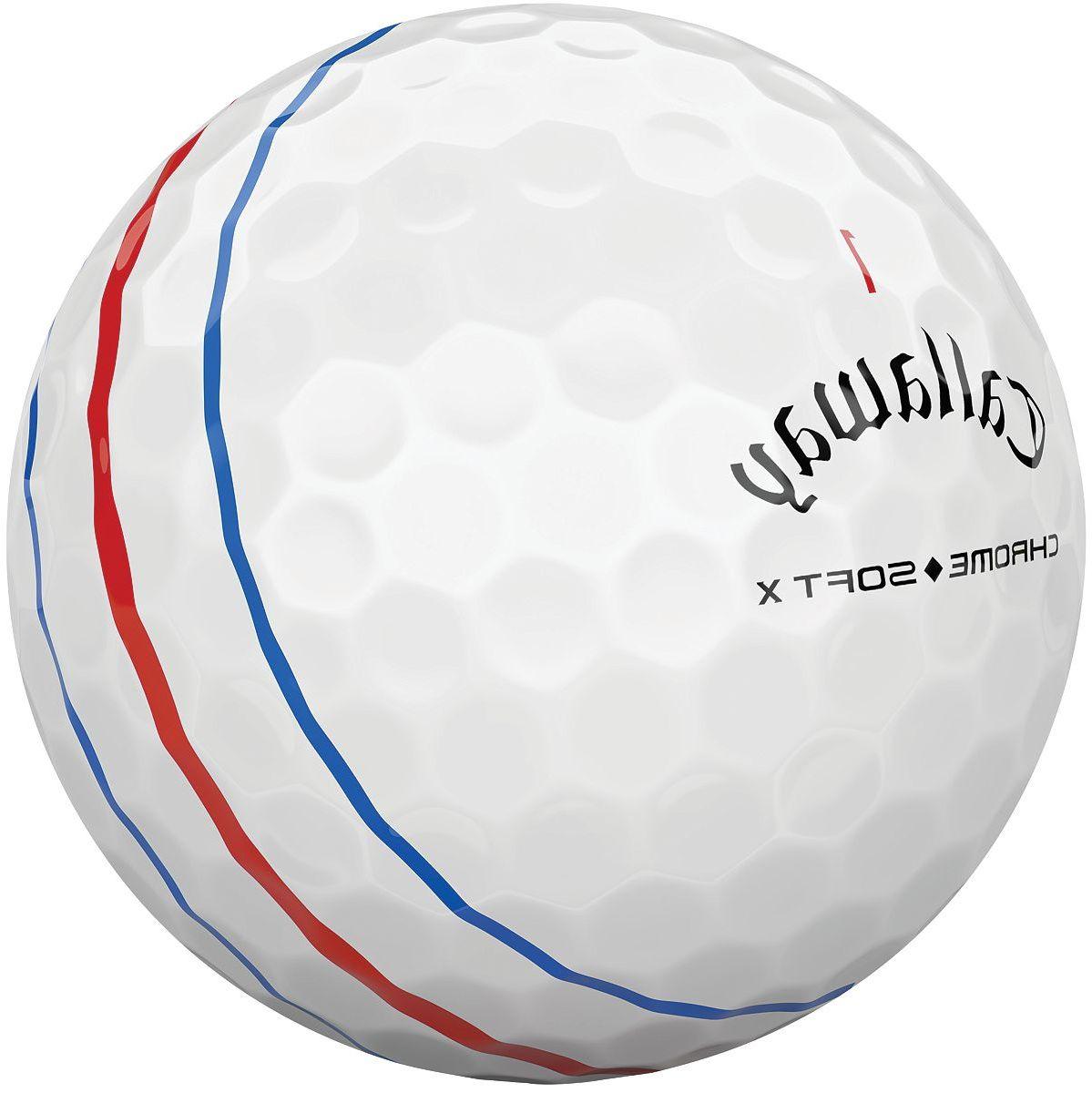 Callaway 2018 Chrome Soft X Triple Track Golf Balls