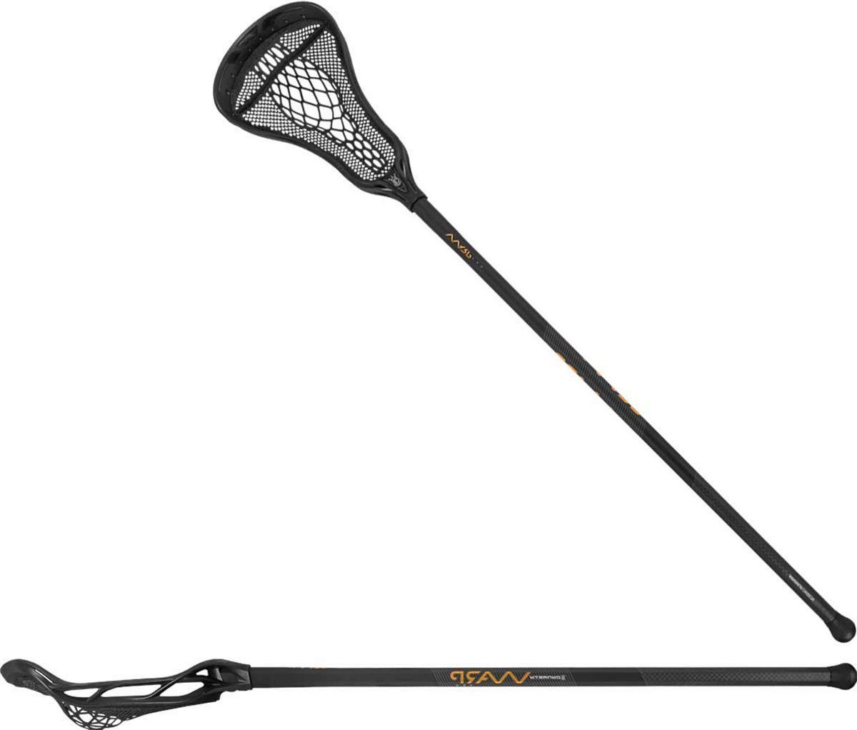 Brine Women's Dynasty Warp Pro on Minimus Carbon Attack Lacrosse Stick