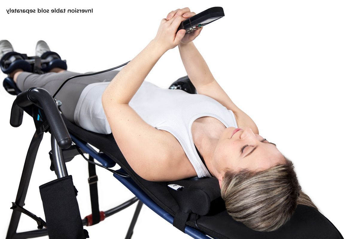 Teeter Better Back Vibration Cushion with Neck Support