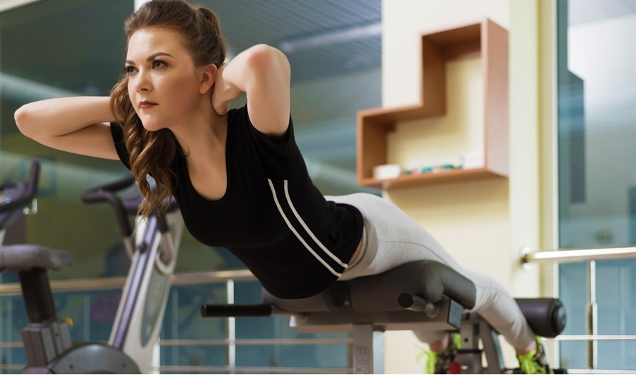 Hyperextensions exercises for people — SportyEmpire